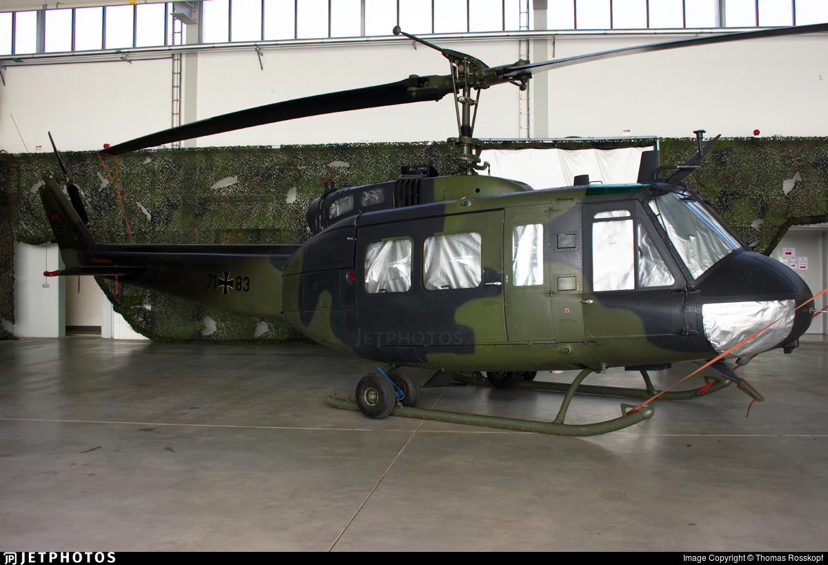 71-83 - Bell UH-1D Iroquois - Germany - Army