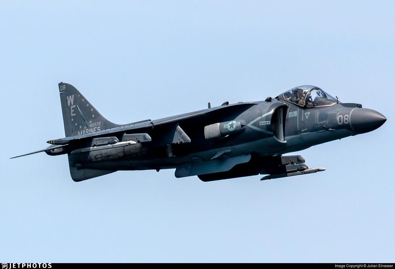 165572 - McDonnell Douglas AV-8B Harrier II - United States - US Marine Corps (USMC)
