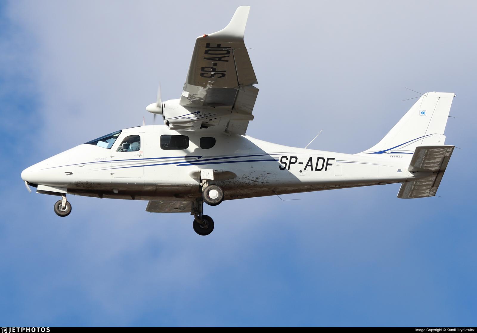 SP-ADF - Tecnam P2006T - Private
