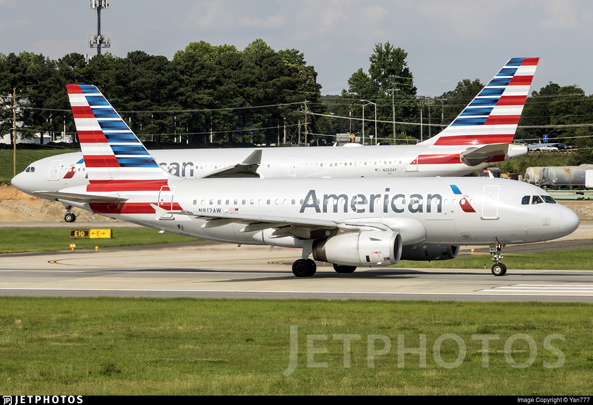 N812AW - Airbus A319-132 - American Airlines