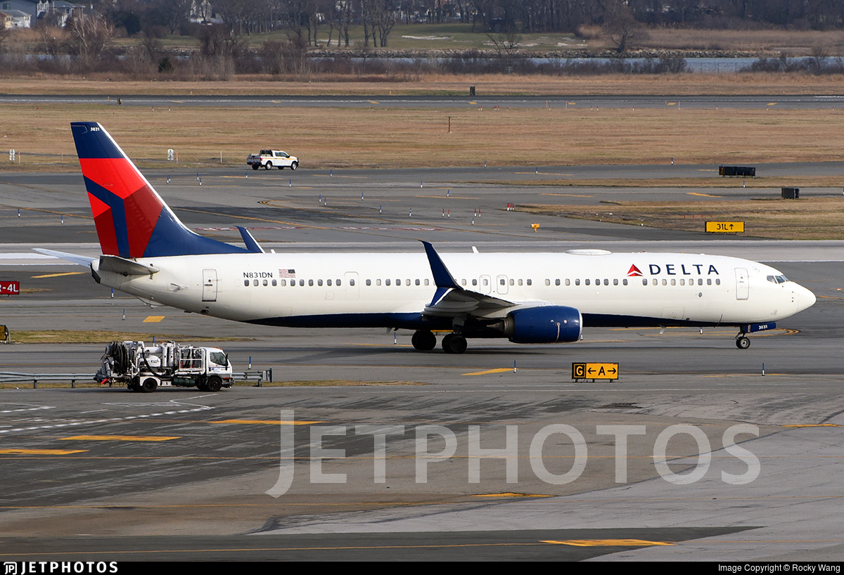 N831DN - Boeing 737-932ER - Delta Air Lines