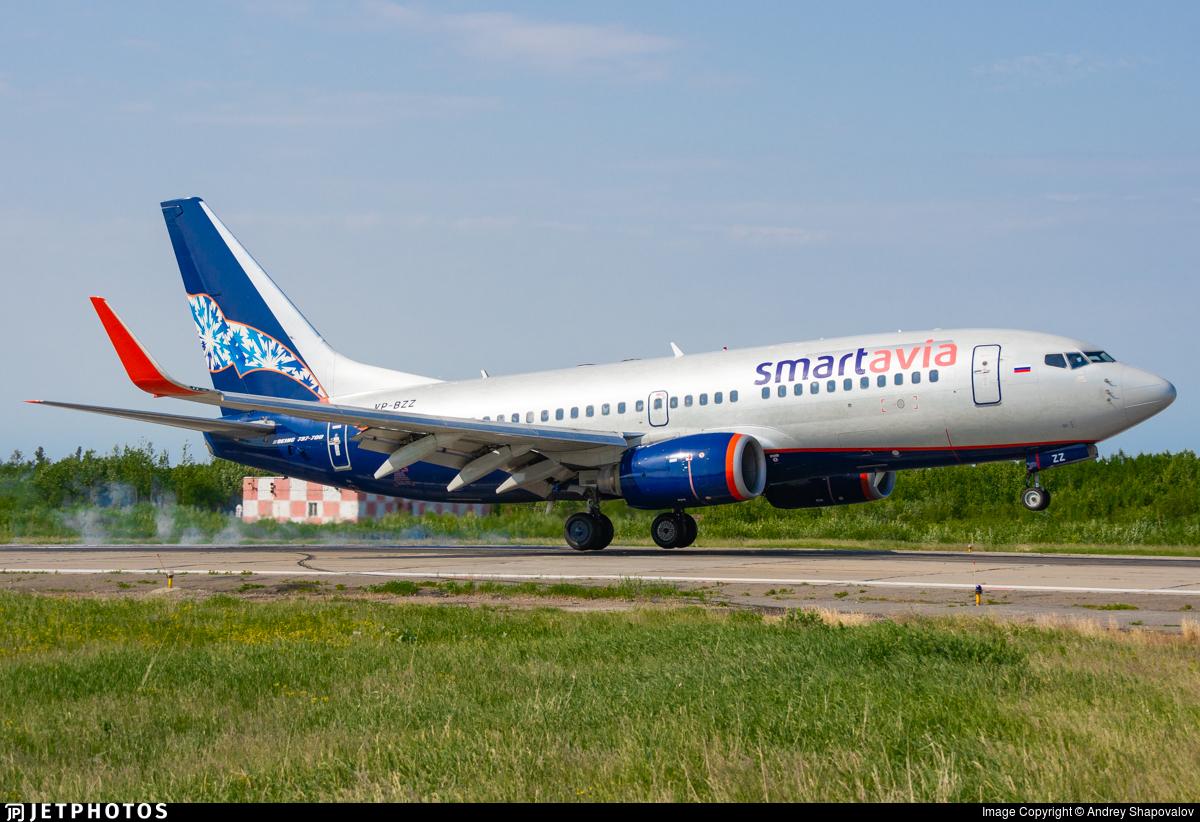 VP-BZZ - Boeing 737-752 - Smartavia