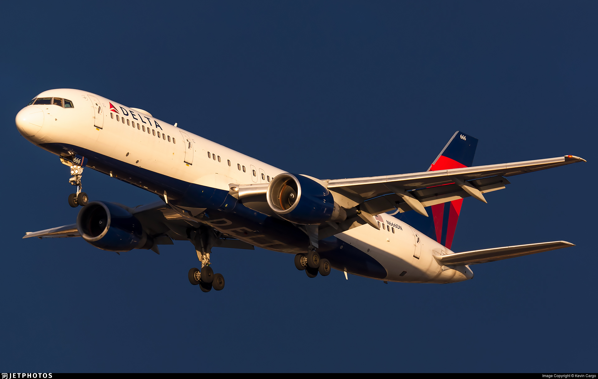 N666DN - Boeing 757-232 - Delta Air Lines