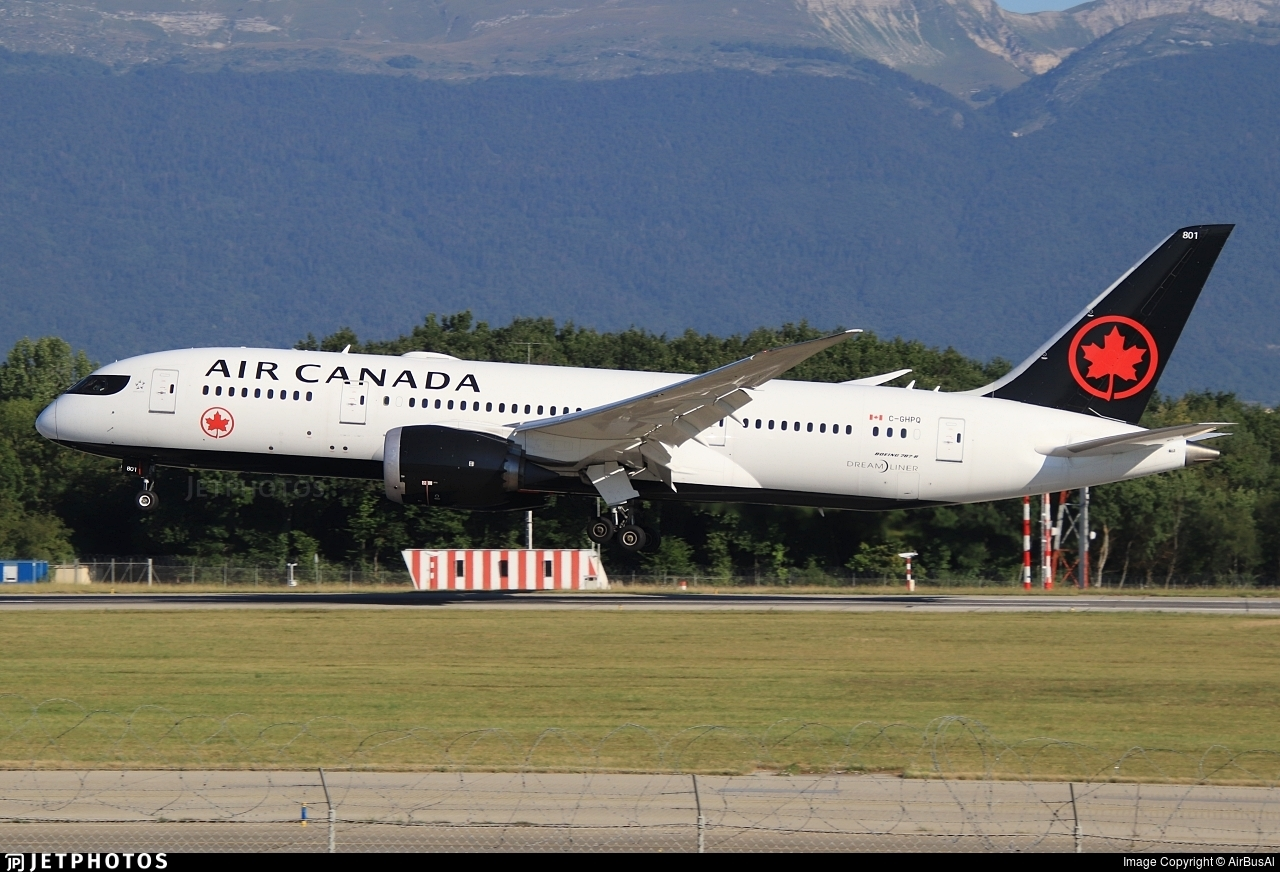 C-GHPQ - Boeing 787-8 Dreamliner - Air Canada