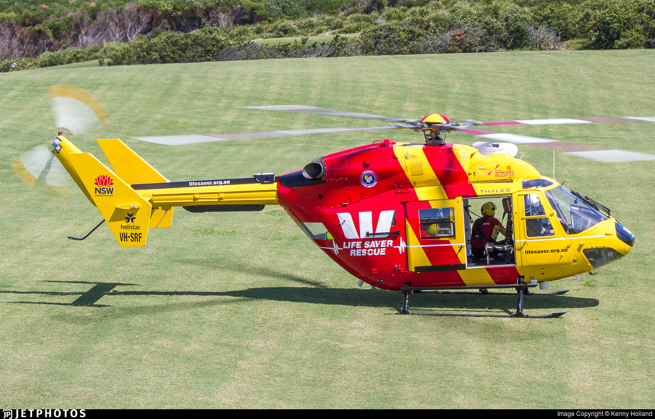 VH-SRF - Eurocopter BK117C-1 - Helistar Helicopters
