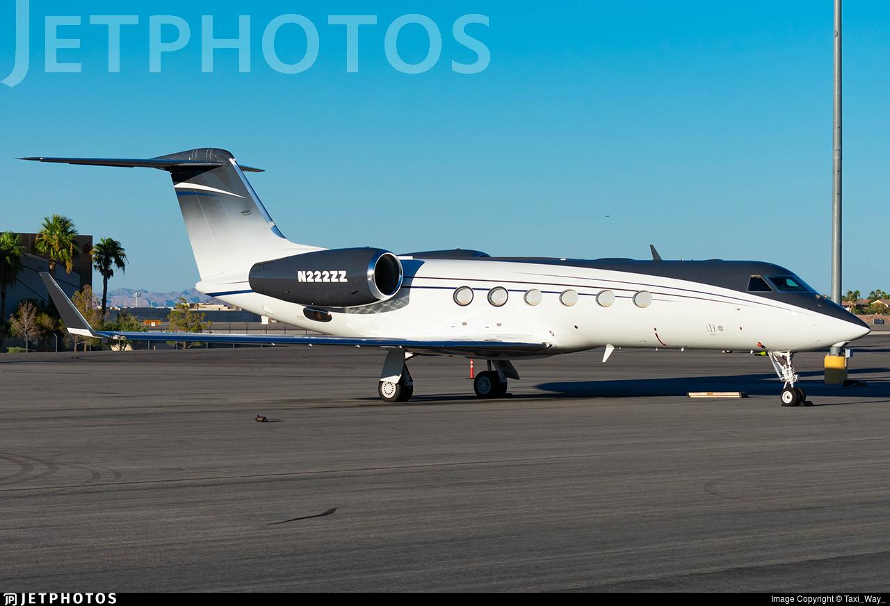 N222ZZ - Gulfstream G450 - Private