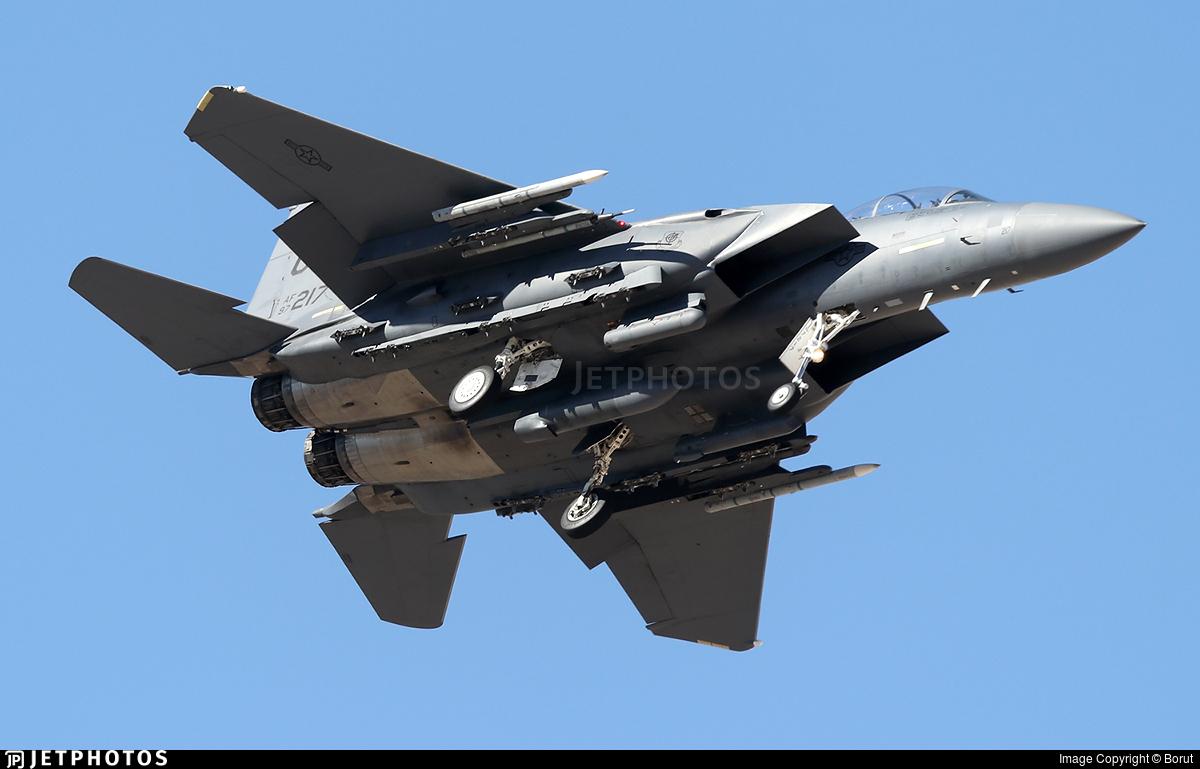 97-0217 - McDonnell Douglas F-15E Strike Eagle - United States - US Air Force (USAF)