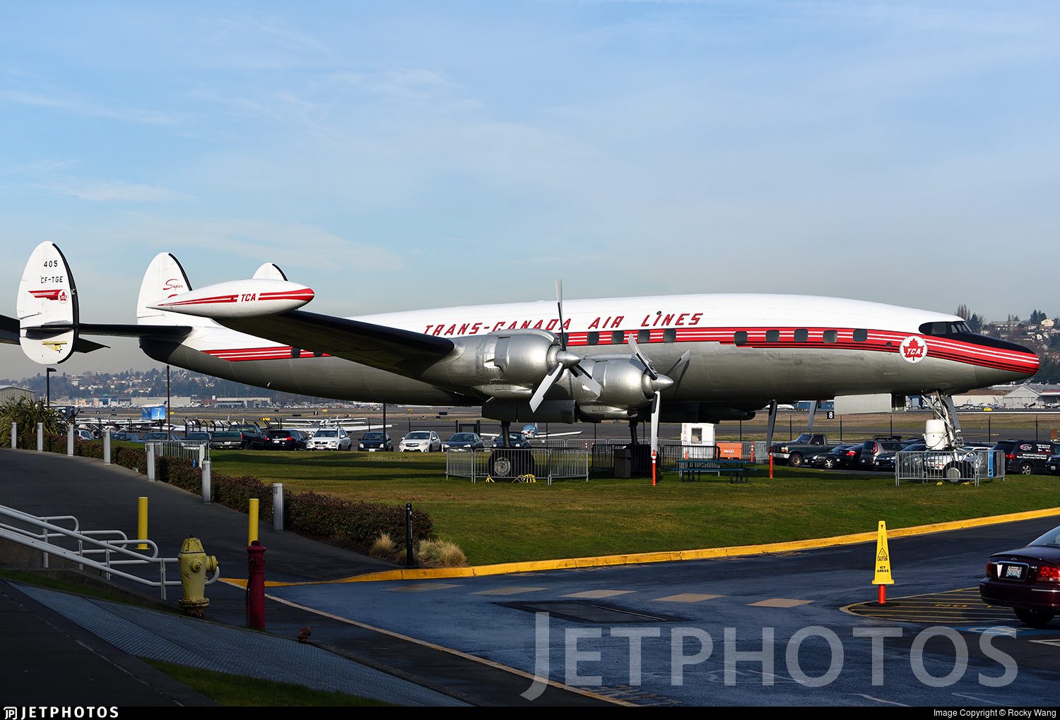 CF-TGE - Lockheed L-1049 Super Constellation - Trans Canada Airlines (TCA