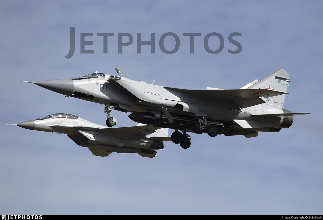81 - Mikoyan-Gurevich MiG-31BM Foxhound - Russia - Air Force