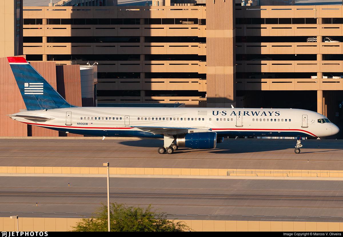 N906AW - Boeing 757-2S7 - US Airways