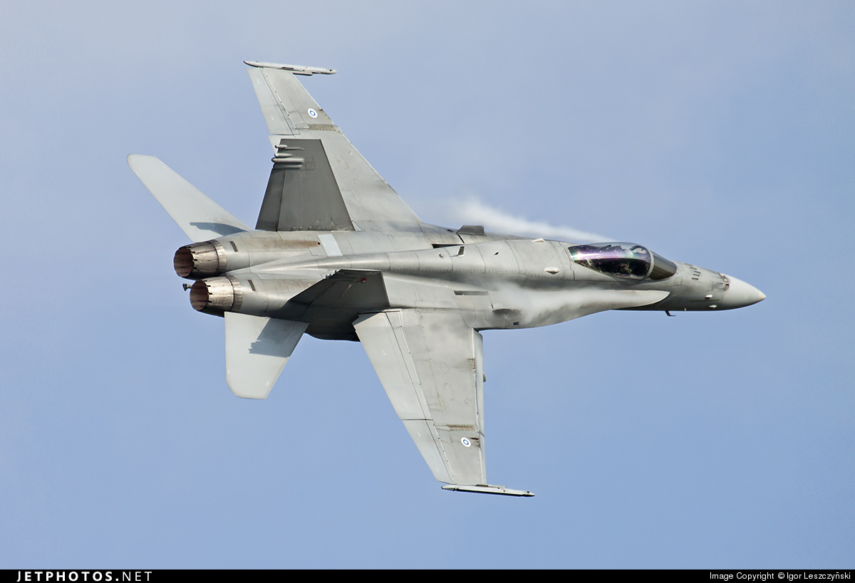 HN-448 - McDonnell Douglas F-18C Hornet - Finland - Air Force