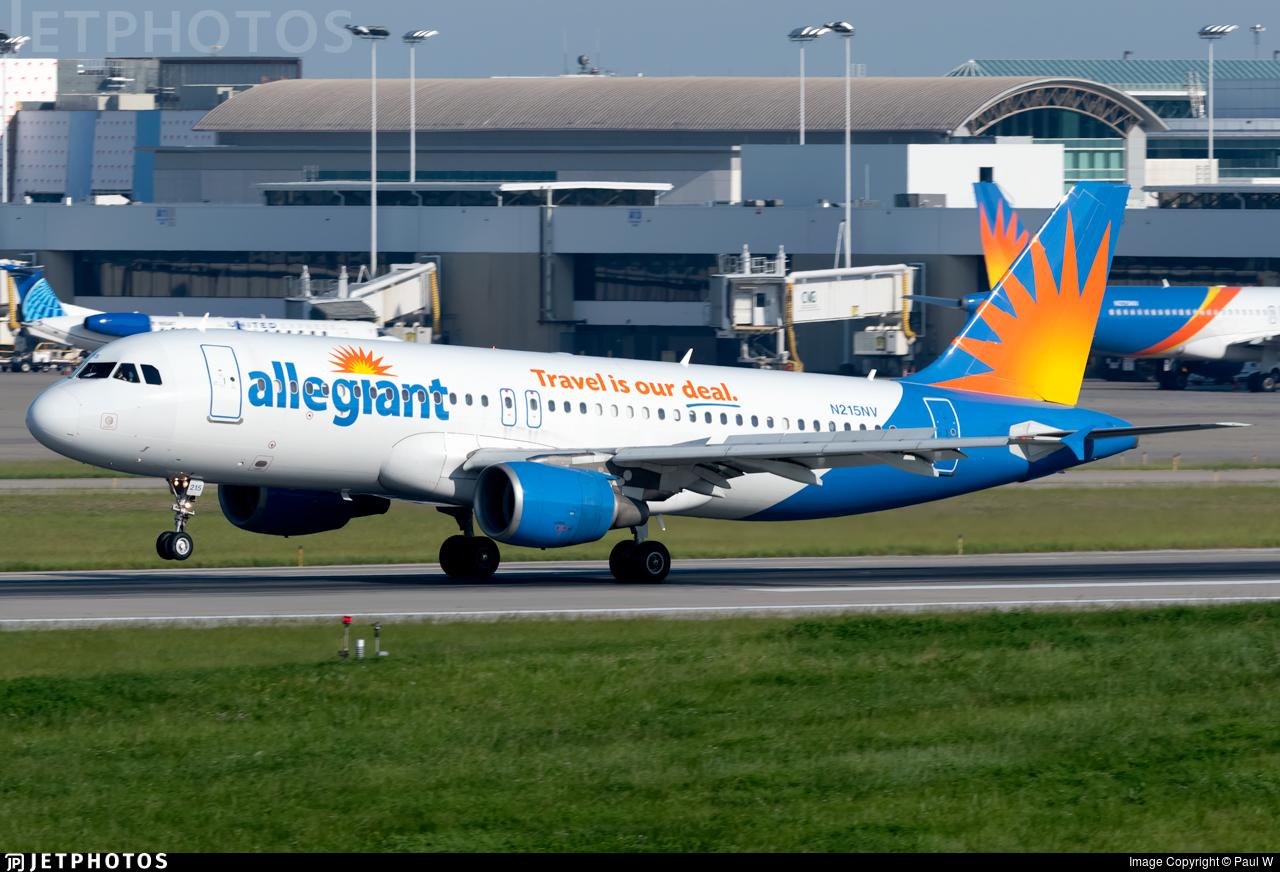 N215NV - Airbus A320-214 - Allegiant Air
