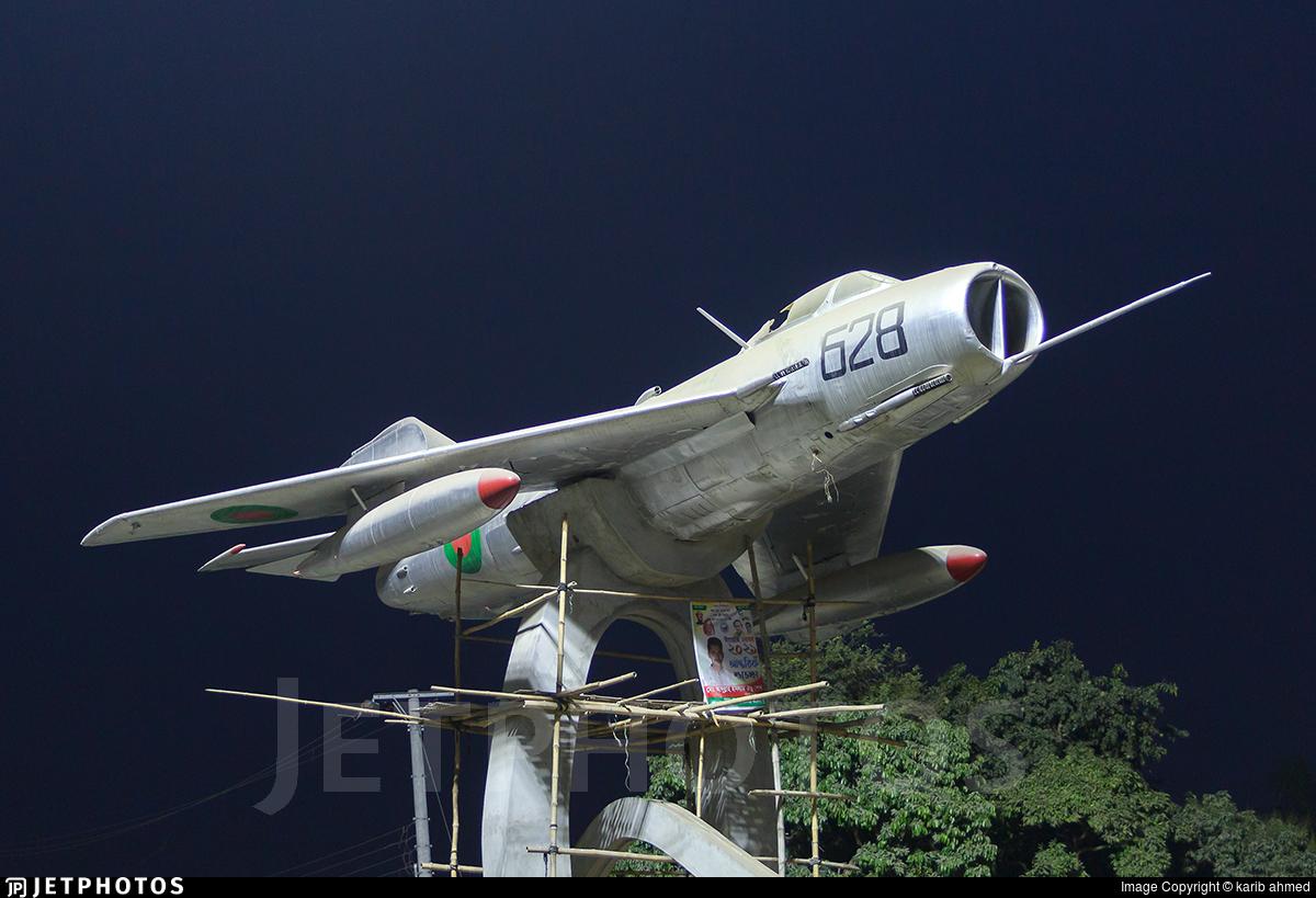 628 - Shenyang J-6 - Bangladesh - Air Force