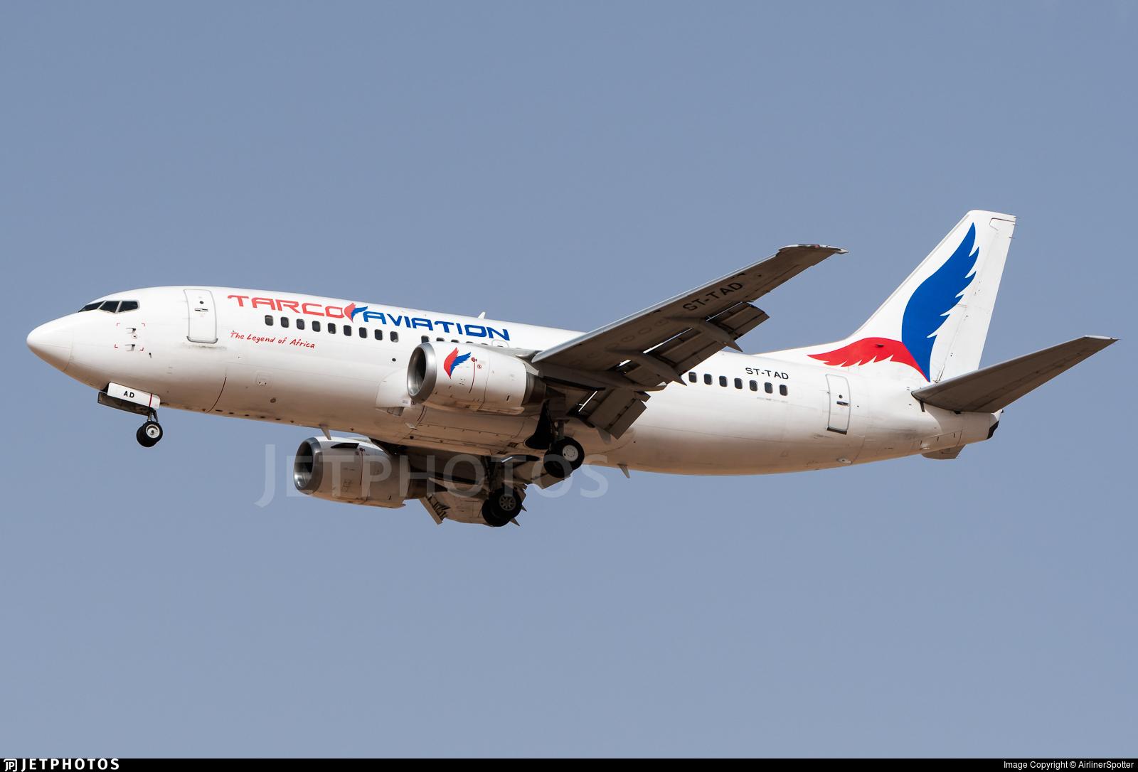ST-TAD - Boeing 737-306 - Tarco Air