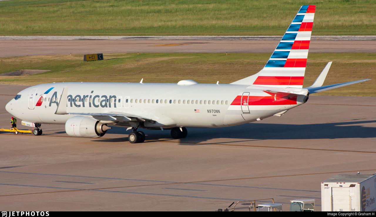 N970NN - Boeing 737-823 - American Airlines