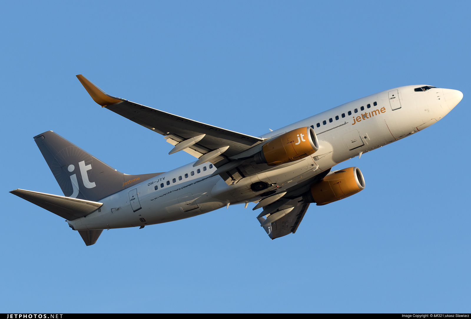 OH-JTV - Boeing 737-7L9 - Jettime Finland