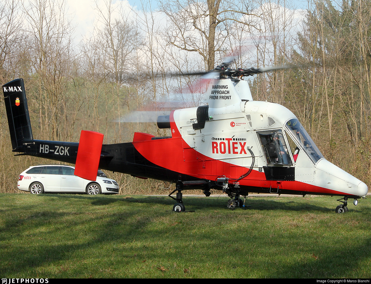 HB-ZGK - Kaman K-1200 K-Max - Rotex Helikopter