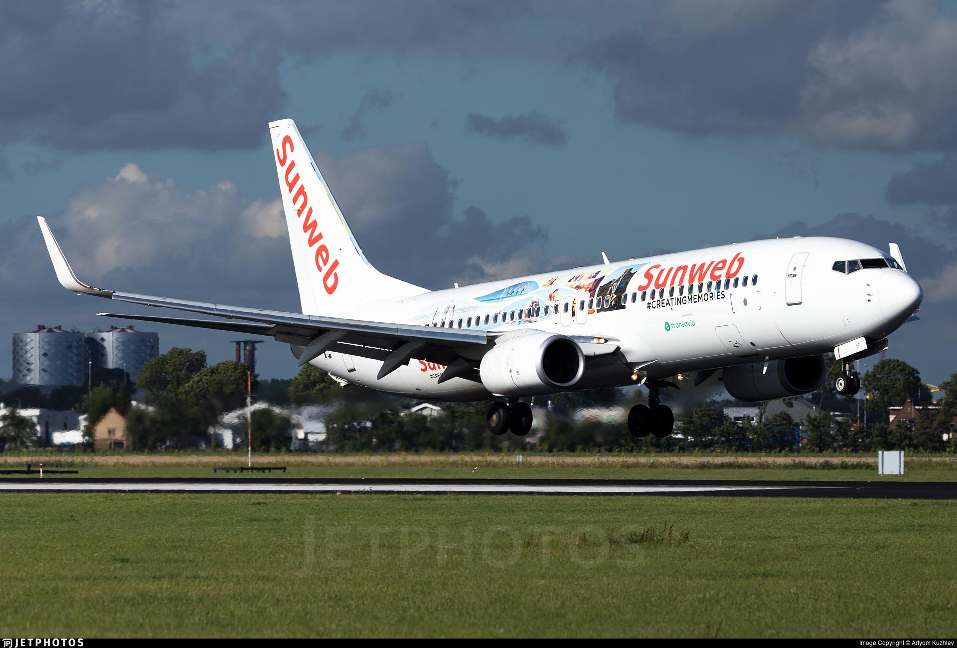 PH-HSF - Boeing 737-8K2 - Transavia Airlines