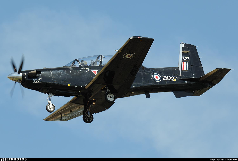 ZM327 - Raytheon T-6C Texan T1 - United Kingdom - Royal Air Force (RAF)