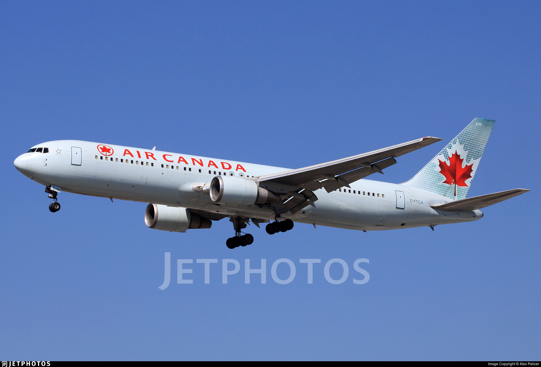 C-FTCA - Boeing 767-375(ER) - Air Canada