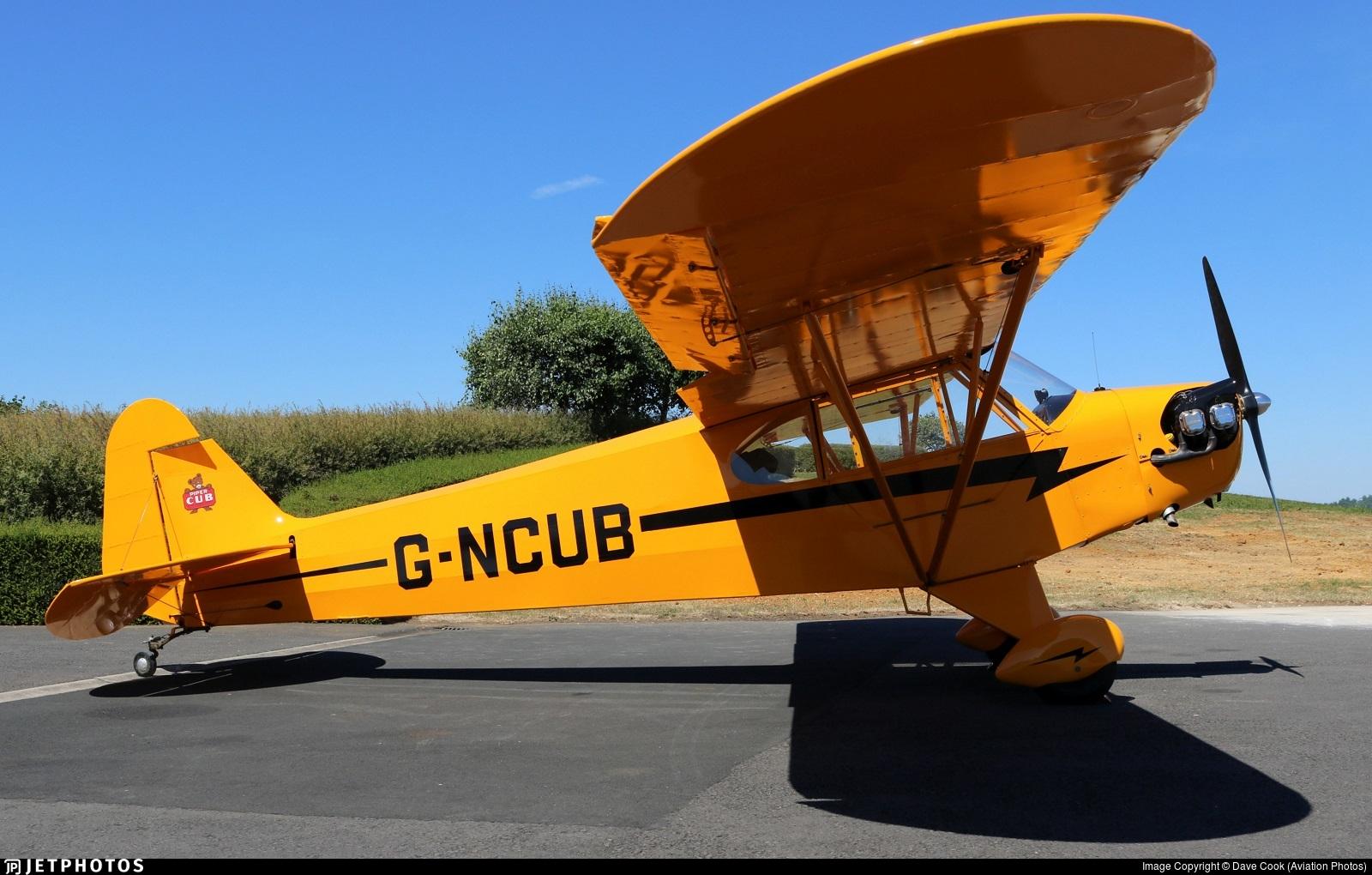 G-NCUB - Piper J-3C-65 Cub - Private