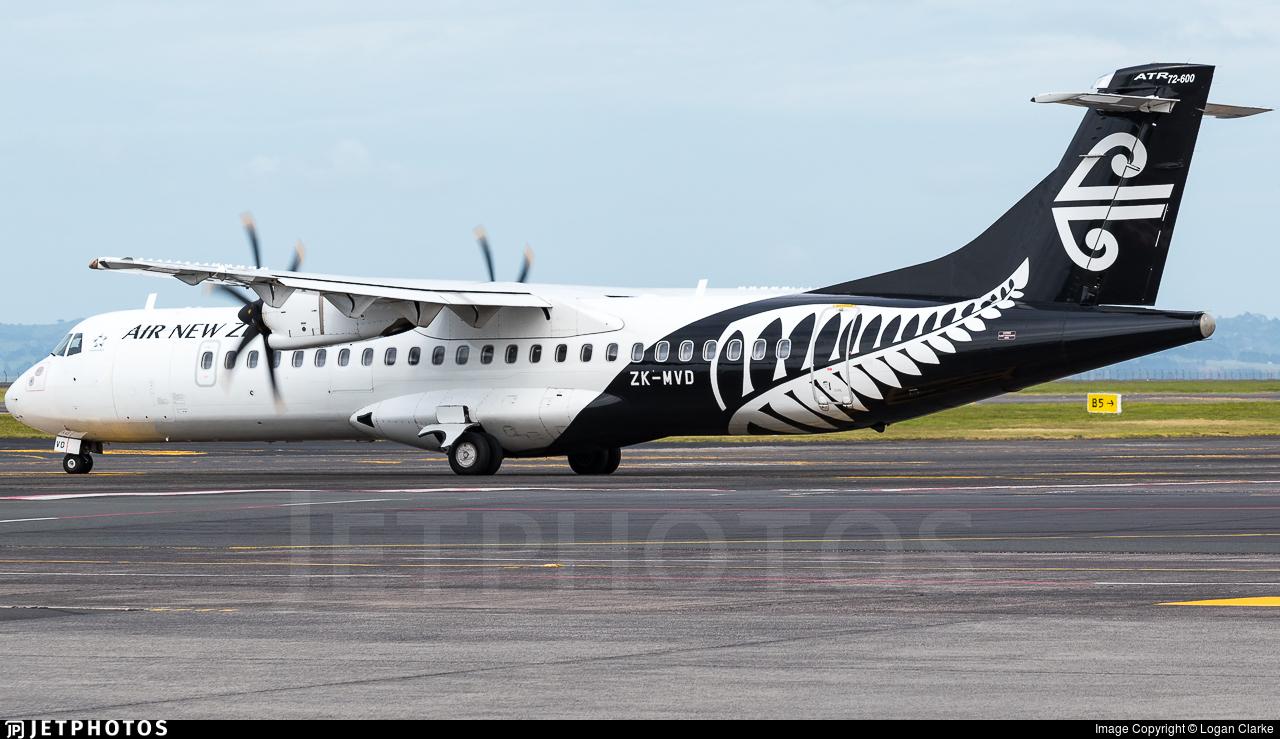 ZK-MVD - ATR 72-212A(600) - Air New Zealand