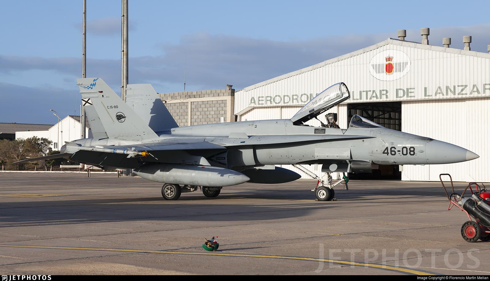 C.15-80 - McDonnell Douglas F/A-18A+ Hornet - Spain - Air Force