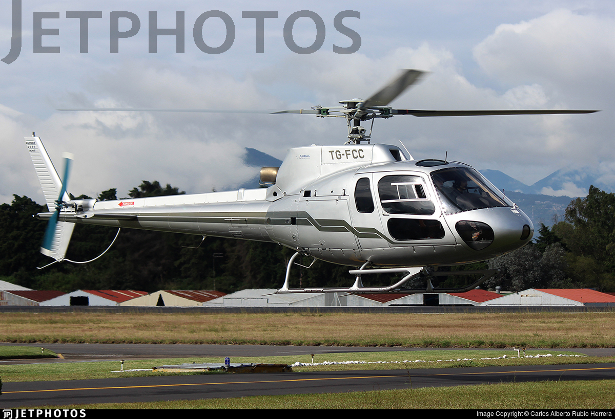 TG-FCC - Eurocopter AS 350BA Ecureuil - Private