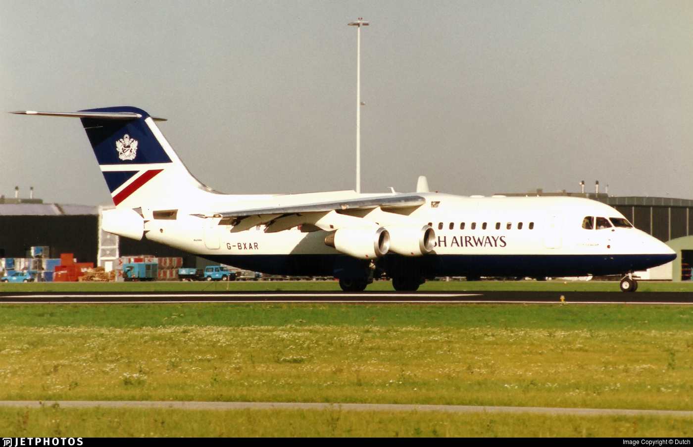 G-BXAR - British Aerospace Avro RJ100 - Cityflyer Express