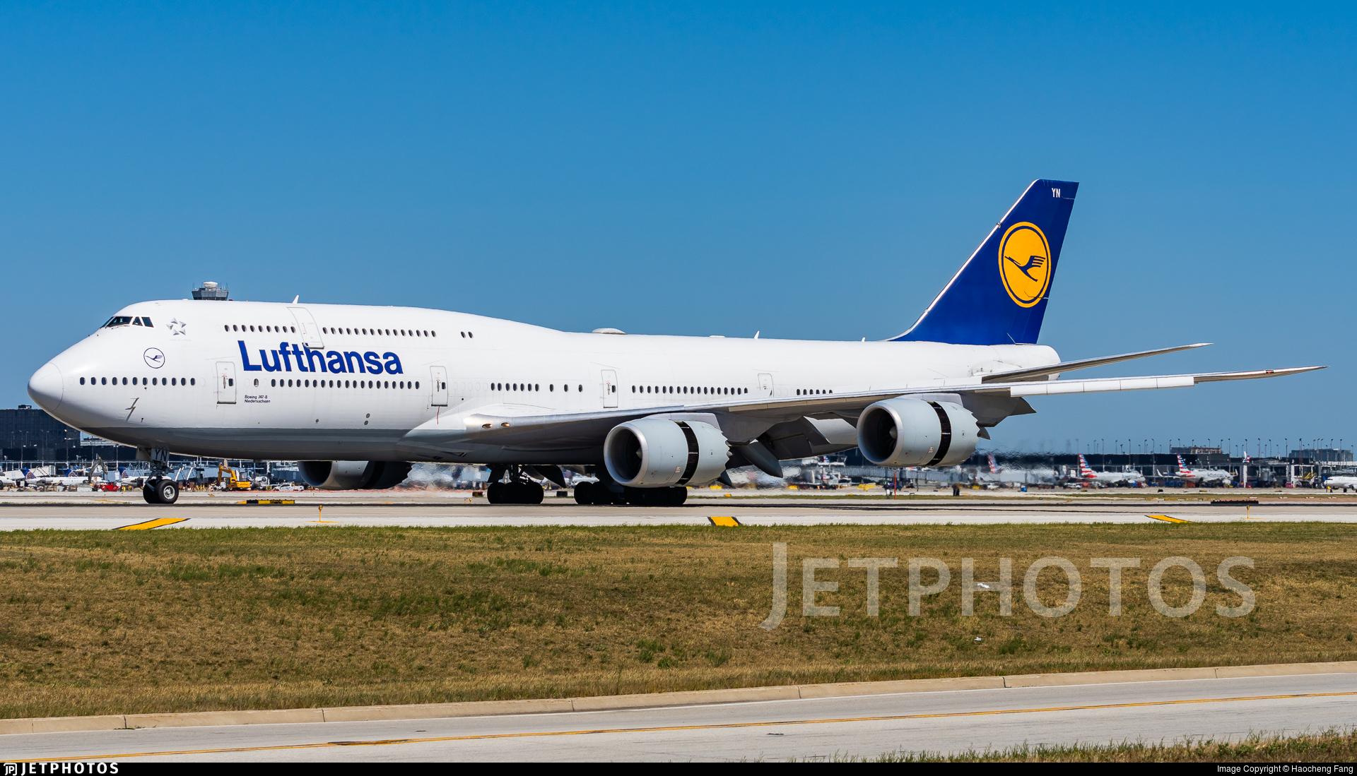 D-ABYN - Boeing 747-830 - Lufthansa