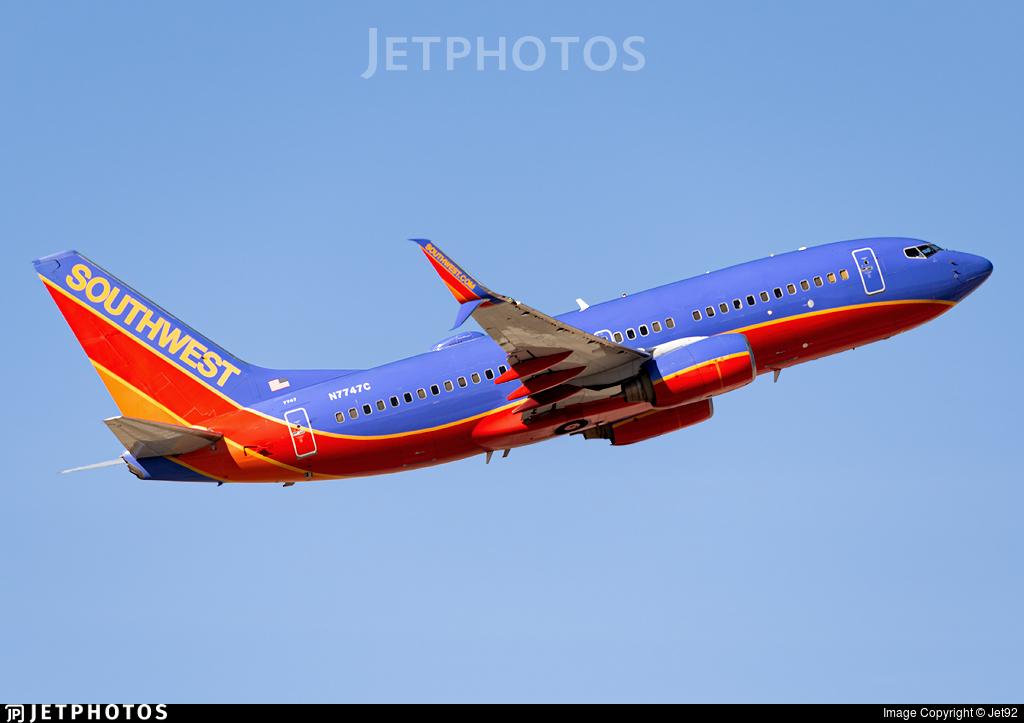 N7747C - Boeing 737-7BD - Southwest Airlines