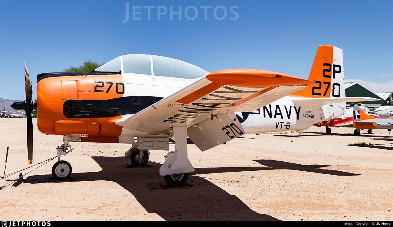 140481 - North American T-28C Trojan - United States - US Navy (USN)