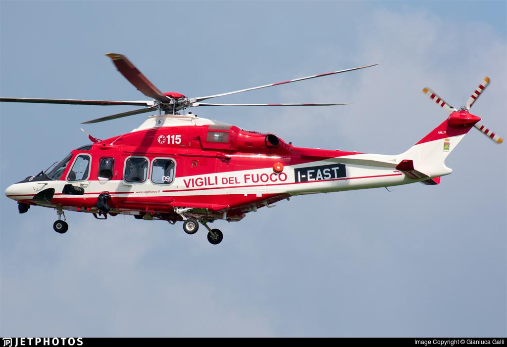 I-EAST - Agusta-Westland AW-139 - Italy - Vigili del Fuoco