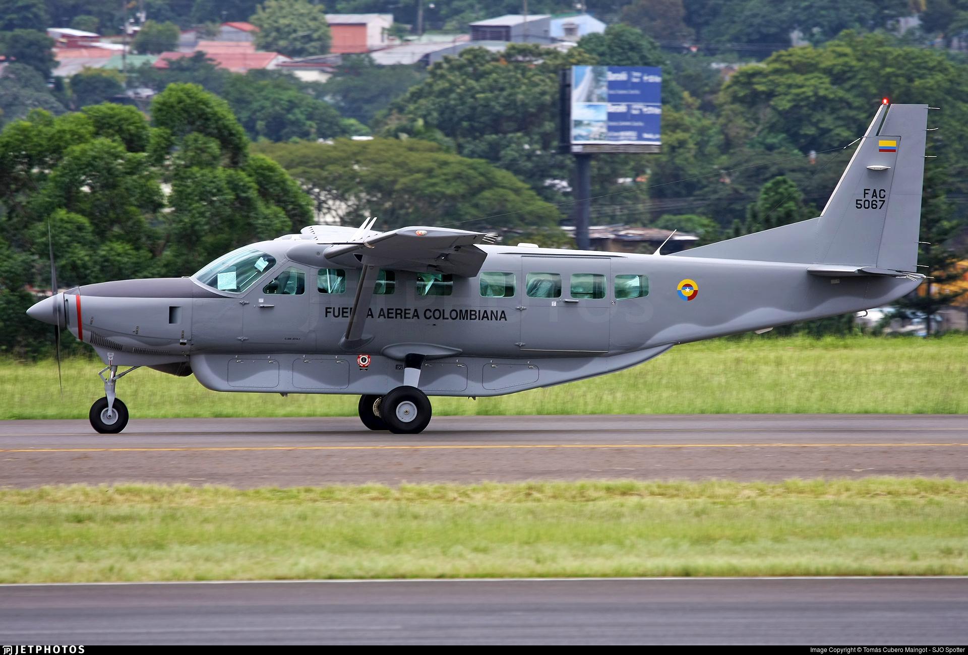 FAC5067 - Cessna 208B Grand Caravan - Colombia - Air Force