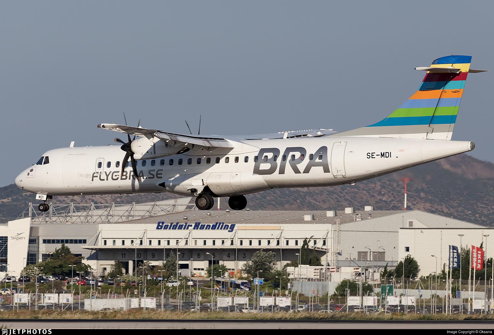 SE-MDI - ATR 72-212A(500) - Braathens Regional