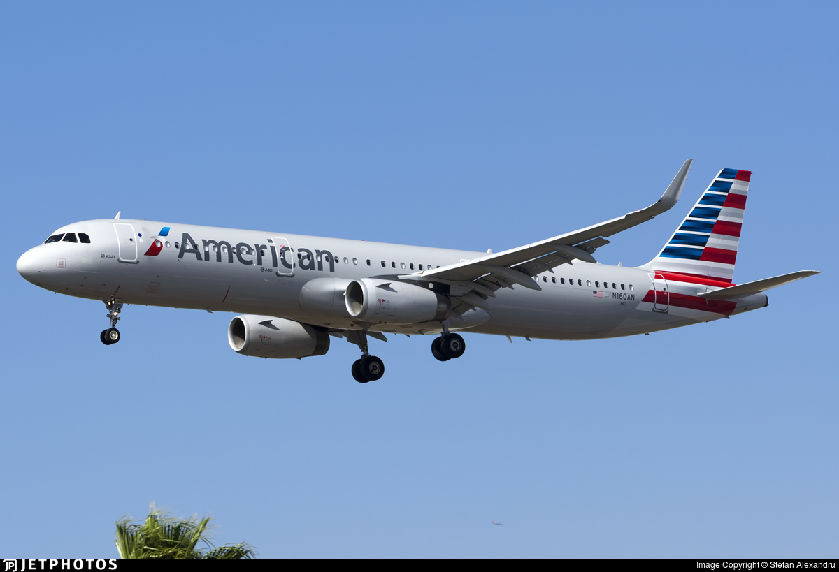 N160AN - Airbus A321-231 - American Airlines
