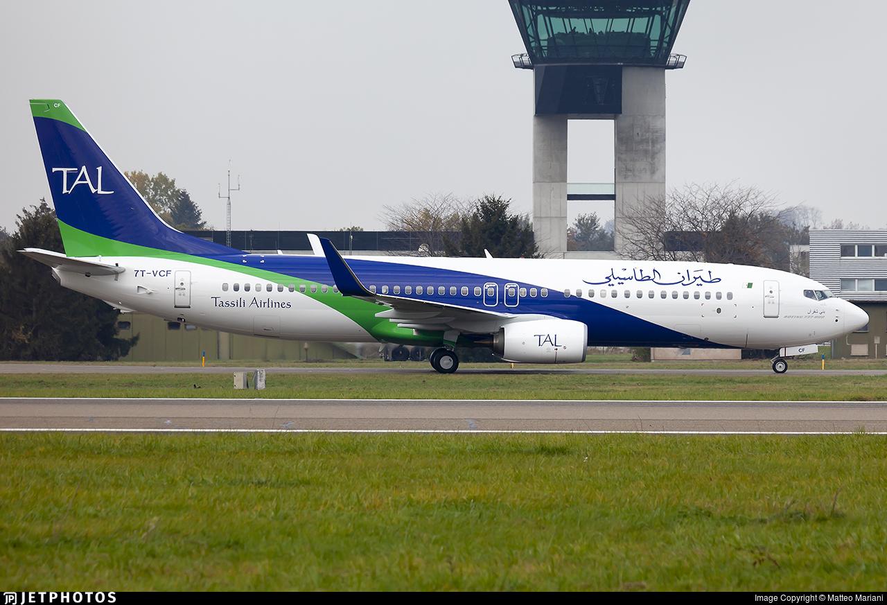 7T-VCF - Boeing 737-8ZQ - Tassili Airlines