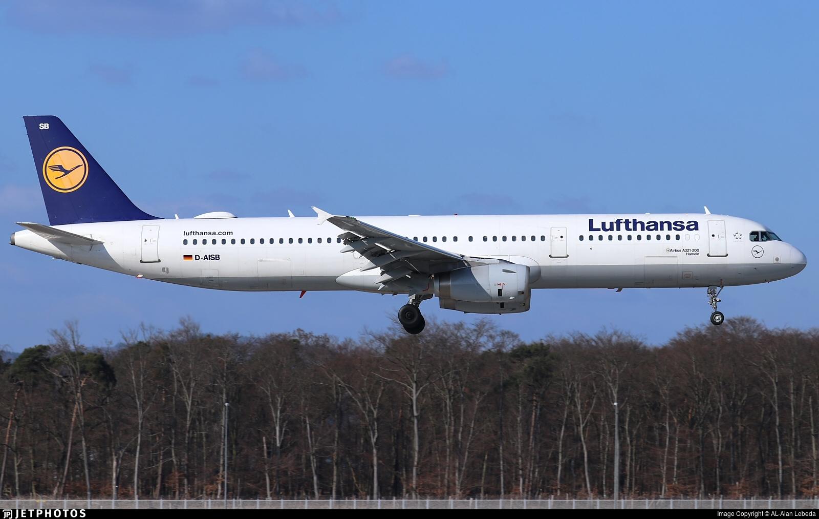 D-AISB - Airbus A321-231 - Lufthansa
