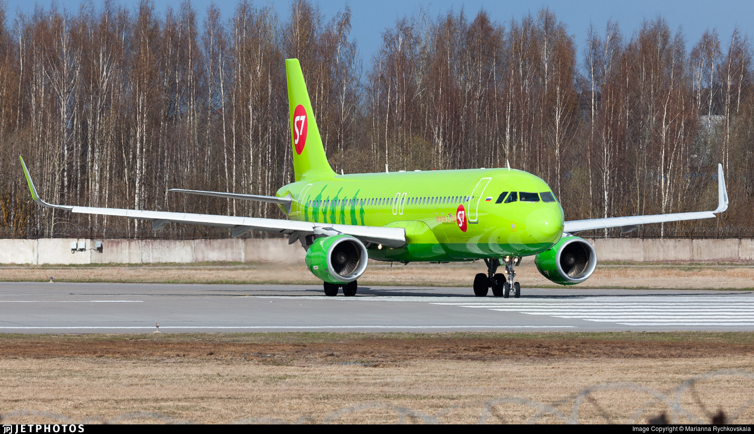 VP-BOM - Airbus A320-214 - S7 Airlines