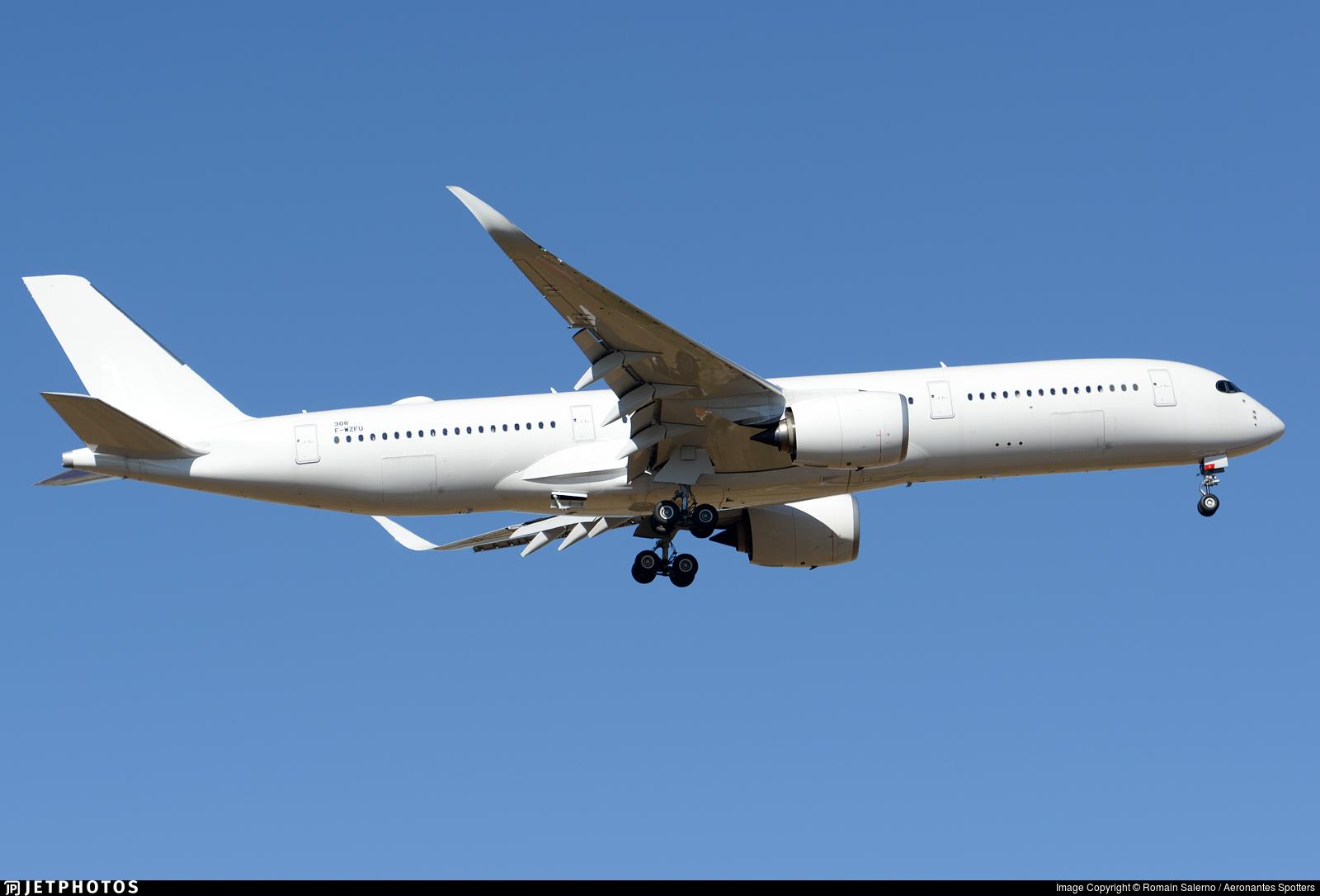 F-WZFU - Airbus A350-941 - Airbus Industrie