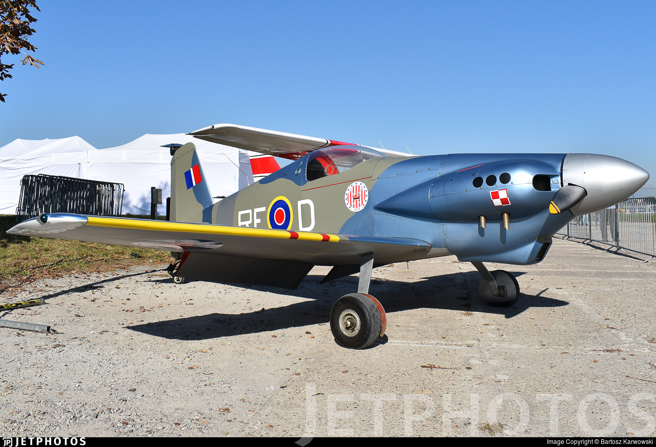 A44RFD  - Midget Mustang M.1 - Private
