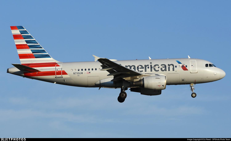 N710UW - Airbus A319-112 - American Airlines