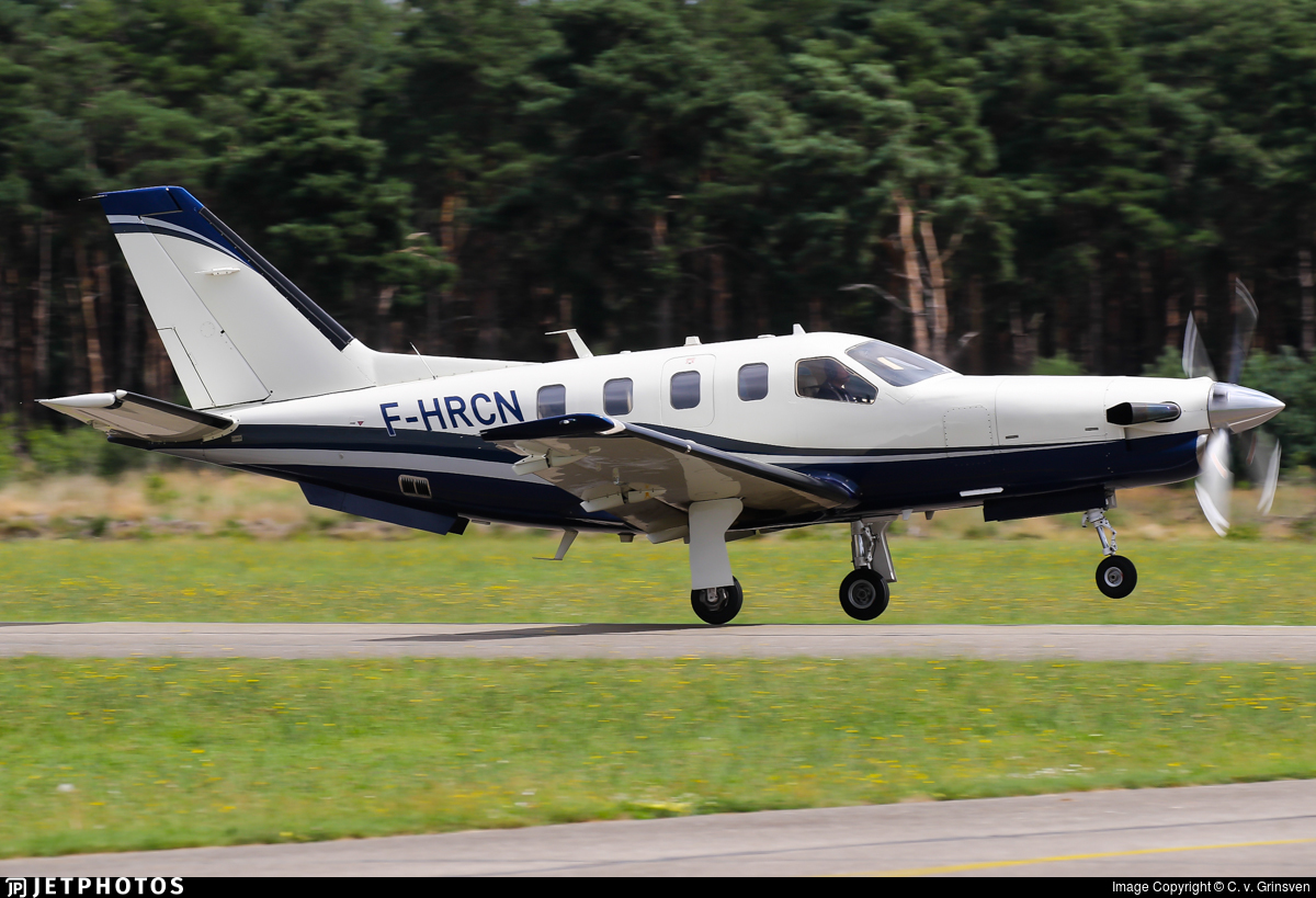 F-HRCN - Socata TBM-850 - Private
