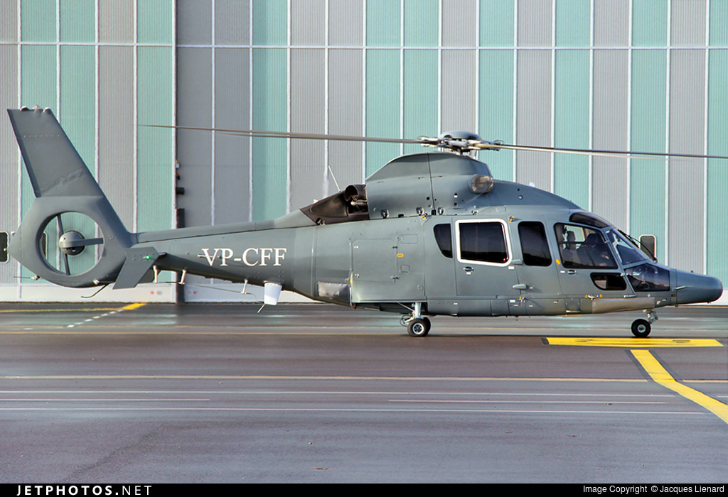 VP-CFF - Eurocopter EC 155 B1 - Private
