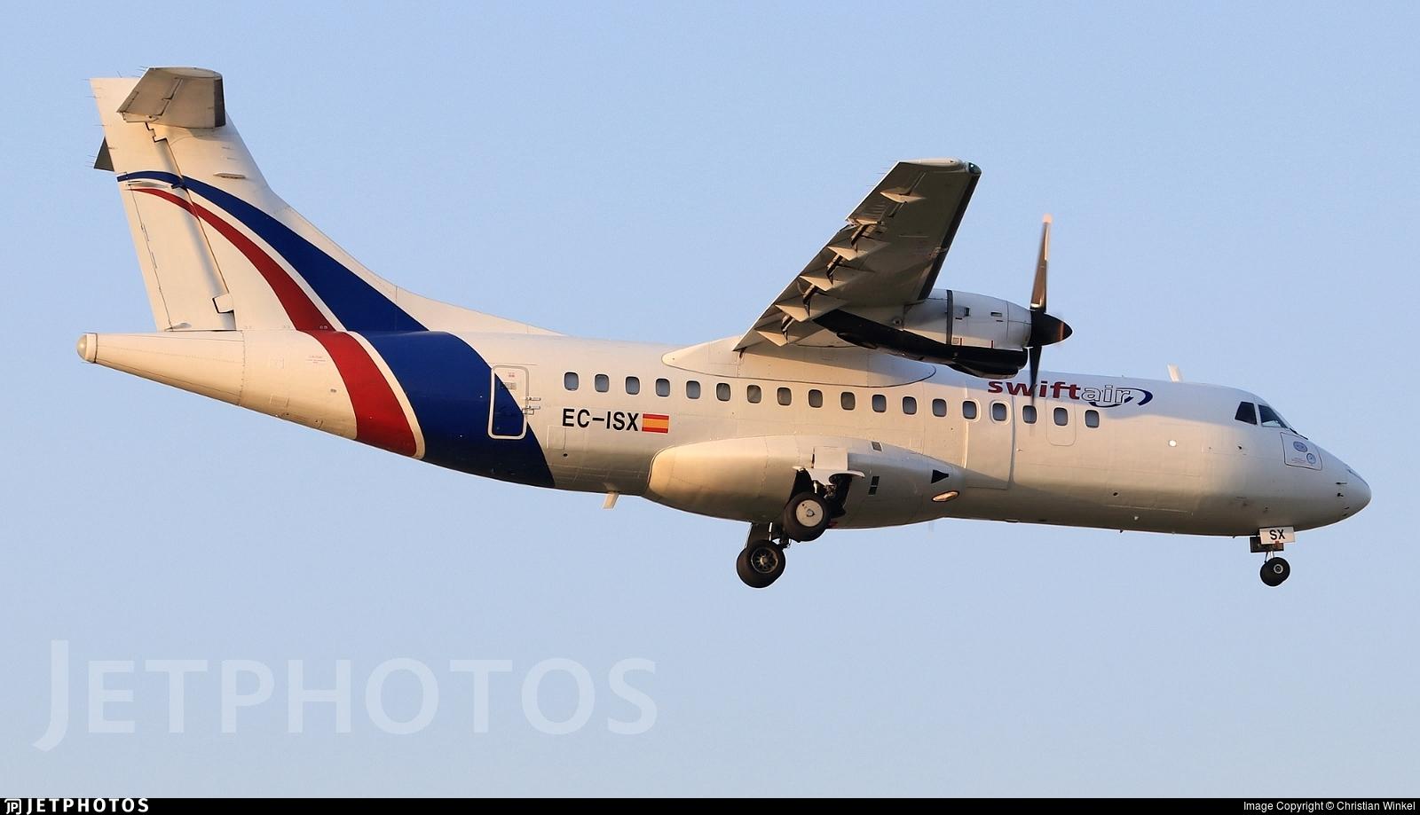 EC-ISX - ATR 42-300(F) - Swiftair