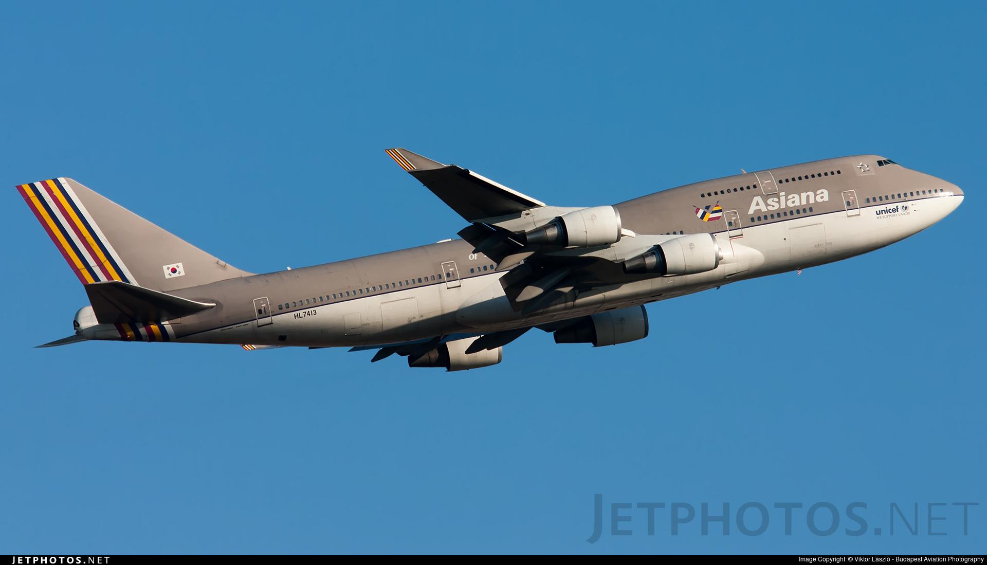 HL7413 | Boeing 747-48E(BDSF) | Asiana Airlines | Viktor ...
