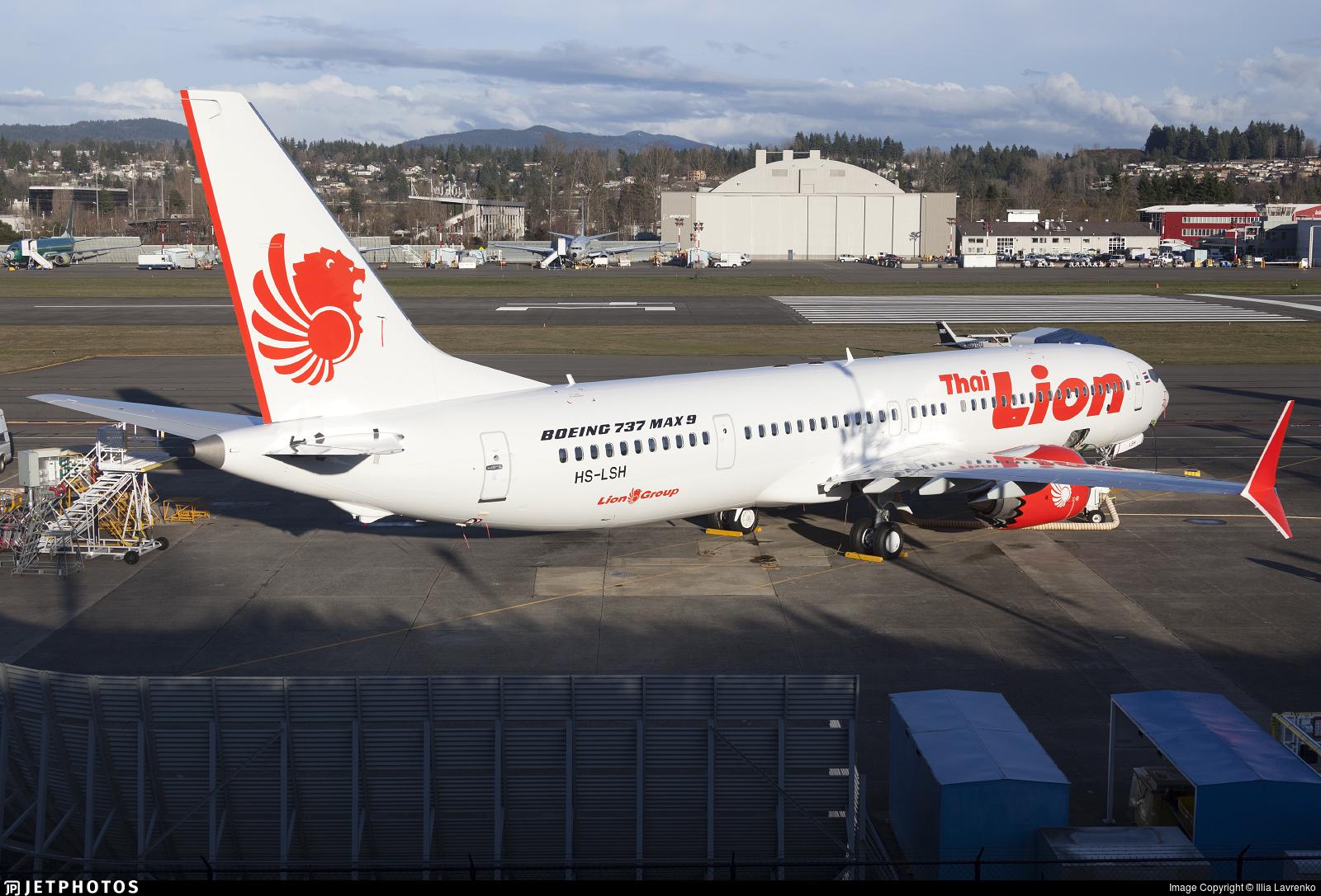 HS-LSH - Boeing 737-9 MAX - Thai Lion Air
