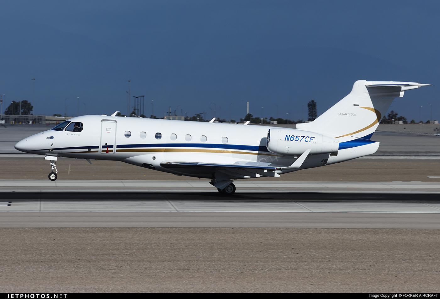 N657GF - Embraer 505 Phenom 300 - Private