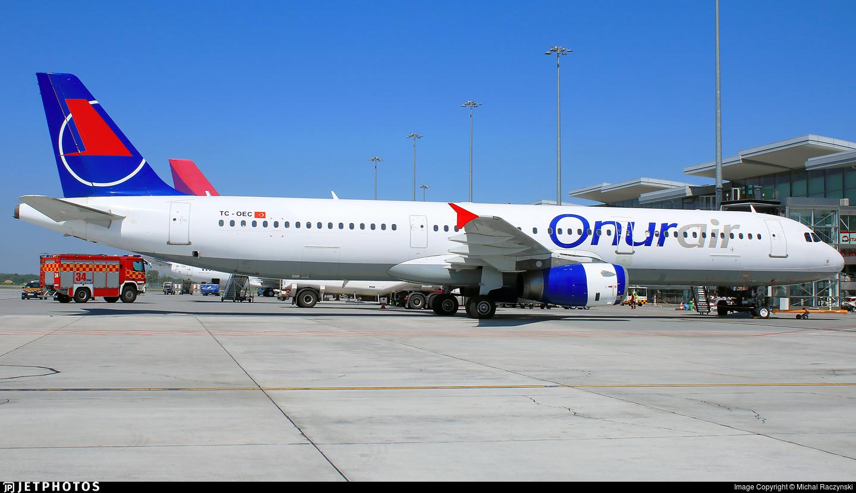 TC-OEC - Airbus A321-231 - Onur Air