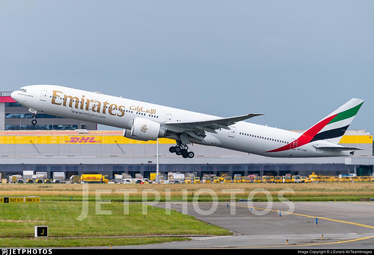 A6-EQM - Boeing 777-31HER - Emirates